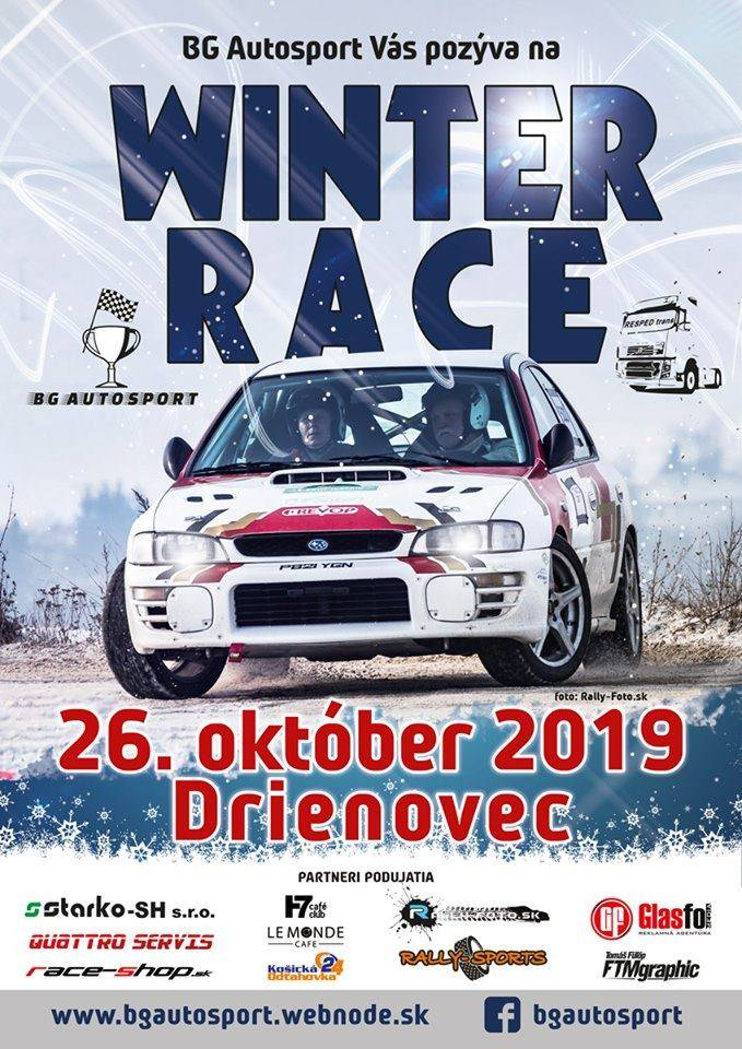 Winter race @ Drienovec